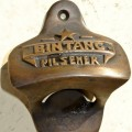 BINTANG beer Bottle Opener brass COKE works AGED finish screws included heavy