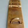 padlock latch vintage antique style house BOX catch hasp DOOR heavy