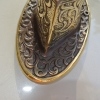 exquisite large Buddha Pull handle Fingers brass door antique old style HAND knob Pull Hook