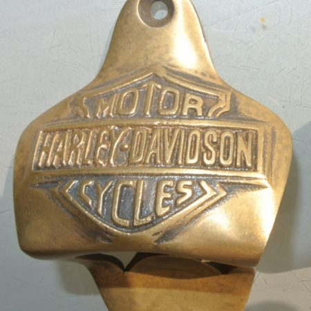 solid pure brass HARLEY DAVIDSON bike beer Bottle Openers works Aged finish heavy