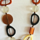 4 necklace hand made stunning fashion jewellery bead NEW light weight resin
