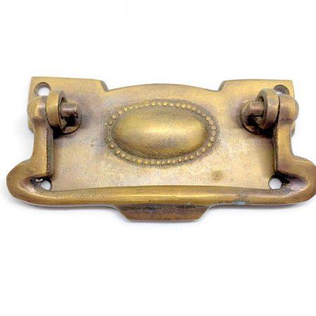 "heavy pulls handles BOX antique watson 517 medium solid brass vintage old replace drawer heavy 3.1/2 ""art DECO (Copy)"